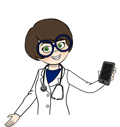 Cuadro médico doctor derecha