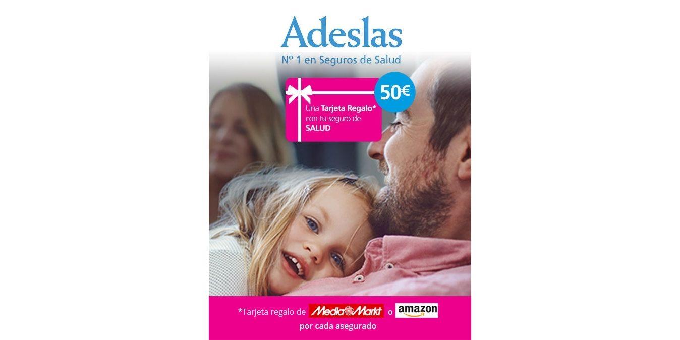 Adeslas Regala 50 Para Gastar En Mediamarkt O En Amazon