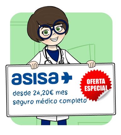 Oferta Especial - seguro médico completo desde 24,20€ al mes