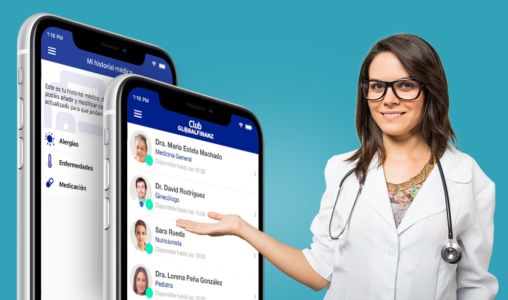 Chat Médico Globalfinanz